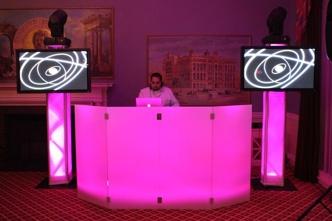 Led Dj Booth Event Ideas Party Rentals Boston New York Hartford New England