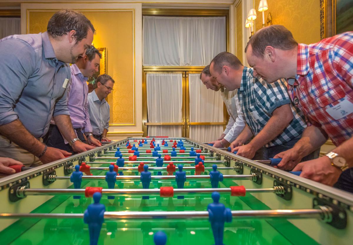 Giant Foosball Rentals Party Games Boston New York