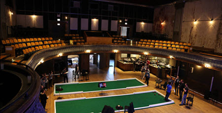 Giant Bocceball Courts